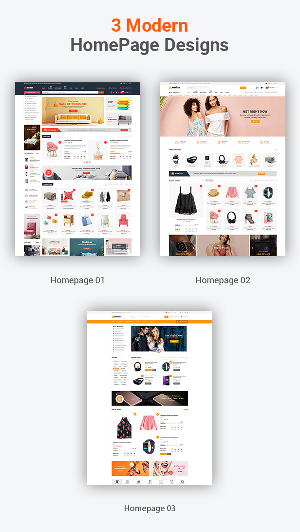 eMarket - WordPress Theme. E-commerce MarketPlace